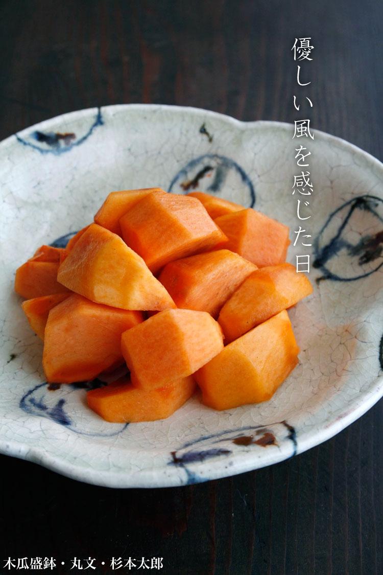 木瓜盛鉢・丸文・杉本太郎