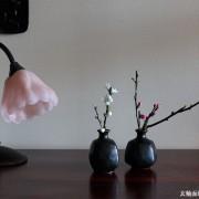 玄釉面取徳利・四方・吉井史郎