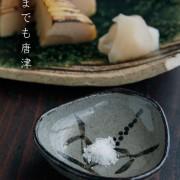 唐津焼・絵唐津手塩皿・A・中村恵子