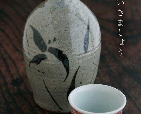 呉州赤絵赤玉文ぐい呑・須田菁華