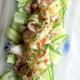 大泉さんに感謝です。No.3 盛ったのは、豚しゃぶサラダです^^