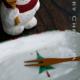 クリスマスツリー小判中皿・赤緑・古川章蔵