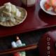 毎年古川章蔵さんに作っていただいている「夫婦ひな箸置」。 もちろん、今年も作っていただいています。