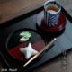 漆器:雷紋皿・奥田志郎