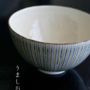 京焼:十草文飯碗・伏原博之