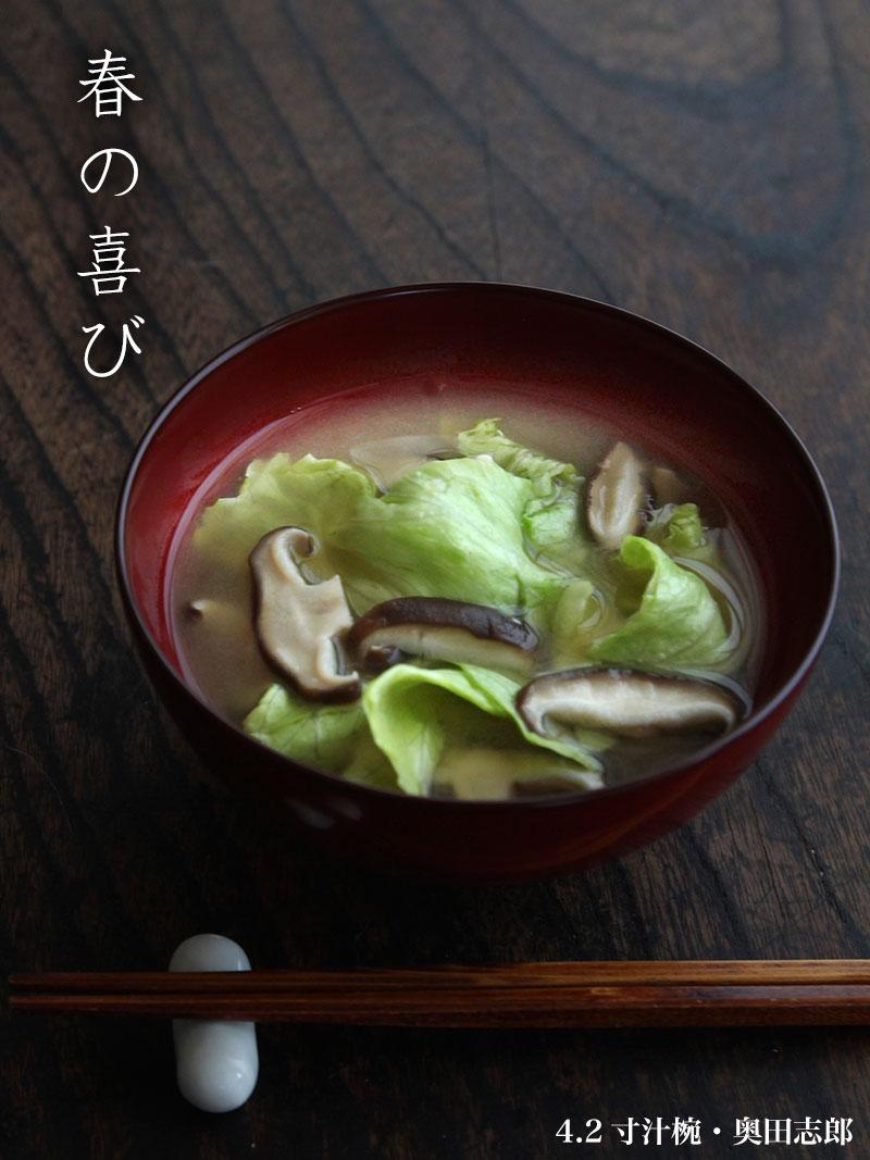 4.2寸汁椀・奥田志郎