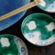 九谷焼:絵変わり千鳥文3.5寸皿・九谷美陶園