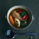 皮くじらスープ碗・長森慶
