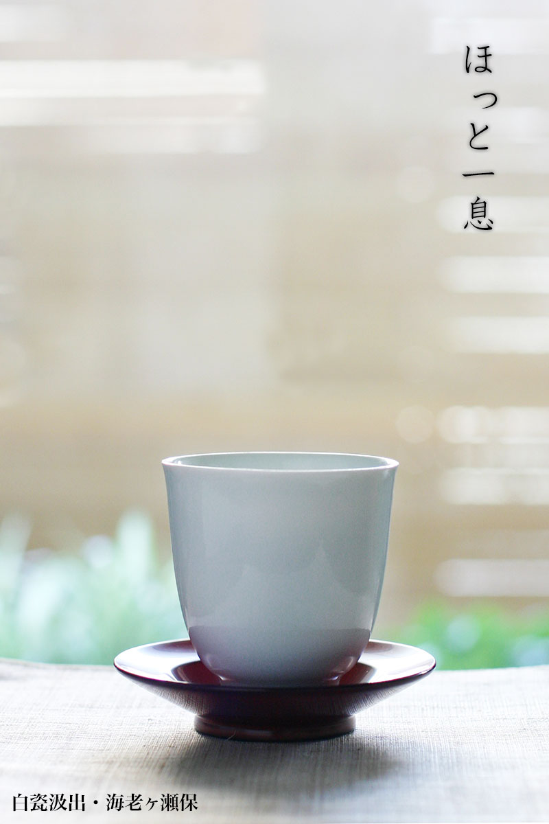 白磁(天草陶石):白瓷汲出・海老ヶ瀬保