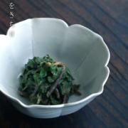白磁:白磁桔梗鉢・幾田晴子