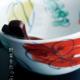 色絵:色絵野菜文楕円鉢・古川章蔵
