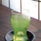 ガラス:絵付グラス・野原・d.Tam