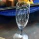 ガラス:絵付リキュールグラス・バラ瓔珞文・d.Tam