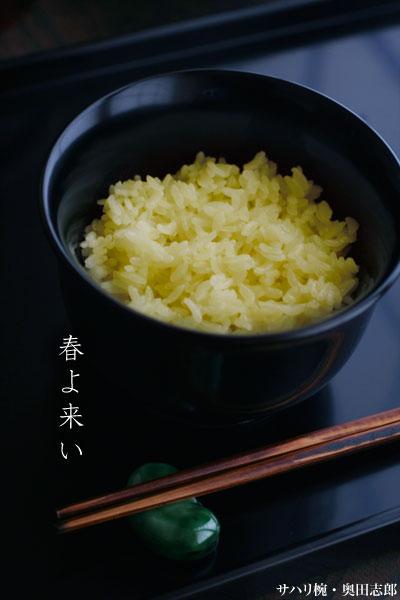 黒サハリ椀・奥田志郎