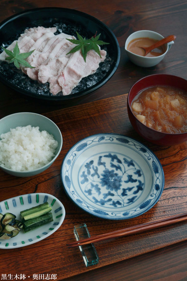 【一汁一菜】お味噌汁中心の食事:和食器の愉しみ・工芸店ようび